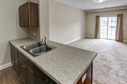 Lower 2 Bedroom Living Area