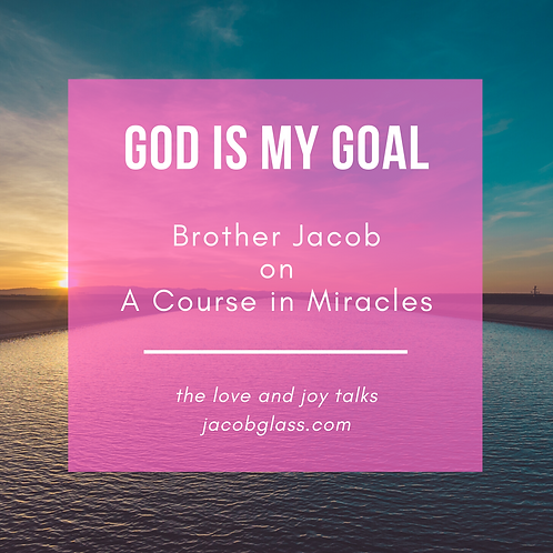 God IS My Goal