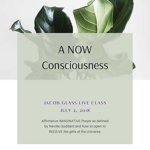 A NOW Consciousness