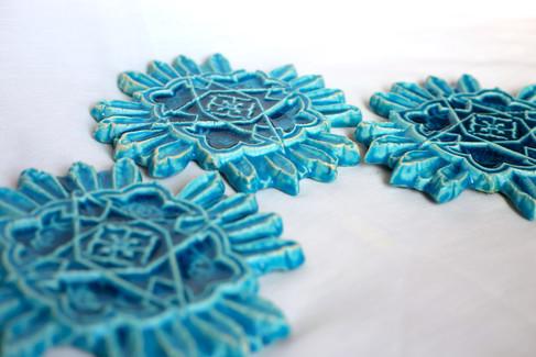 Blue Tile Piece