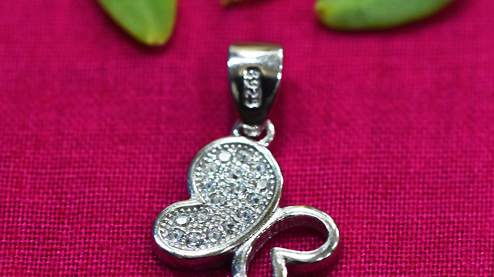 Butterfly Beautiful Charm 925 Sterling Silver Pendant