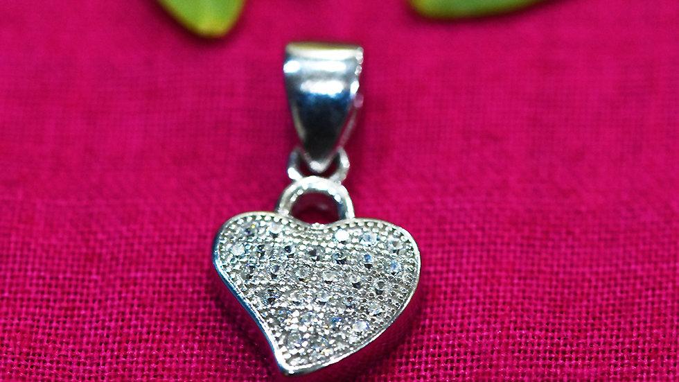 Dear Heart love Pendant 925 Sterling Silver Pendant