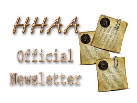 """""""The Official"""" HHAA Newsletter: July 2017"""