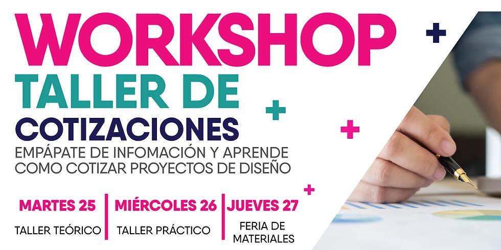 Workshop Taller de Cotizaciones