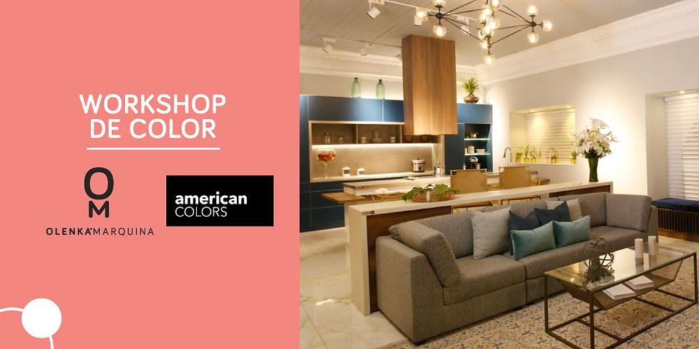 Workshop de color - Olenka Marquina & American Colors