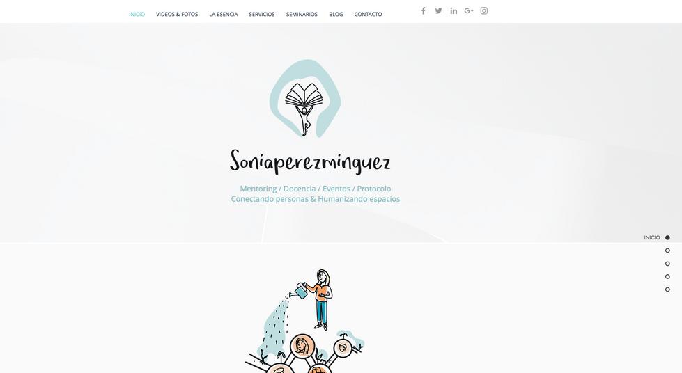 Sonia Perez-Minguez WEB site