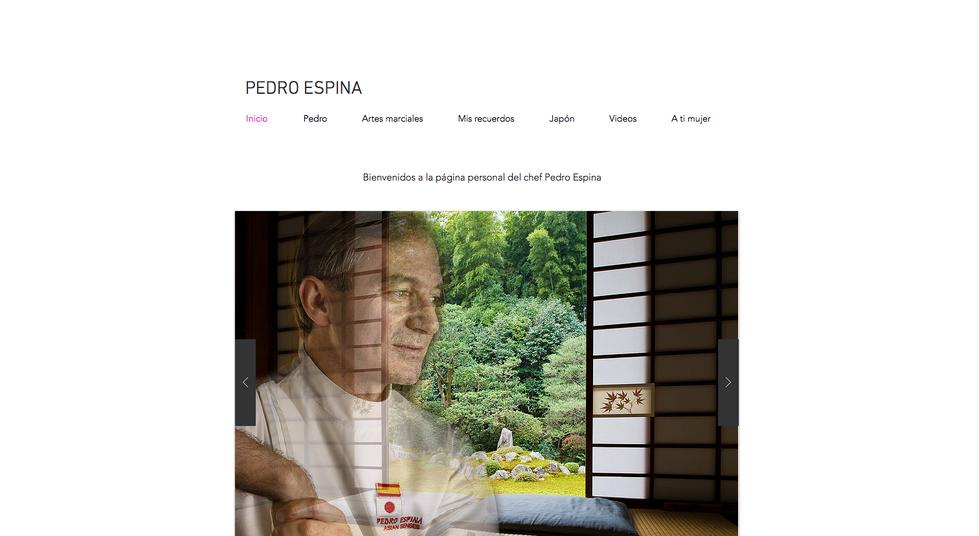Pedro Espina WEB site