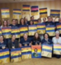 Cape Cod Convention 2016 - Paint Nite Group Photo