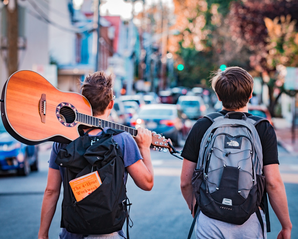 Backpackers in Australia on working holiday visas