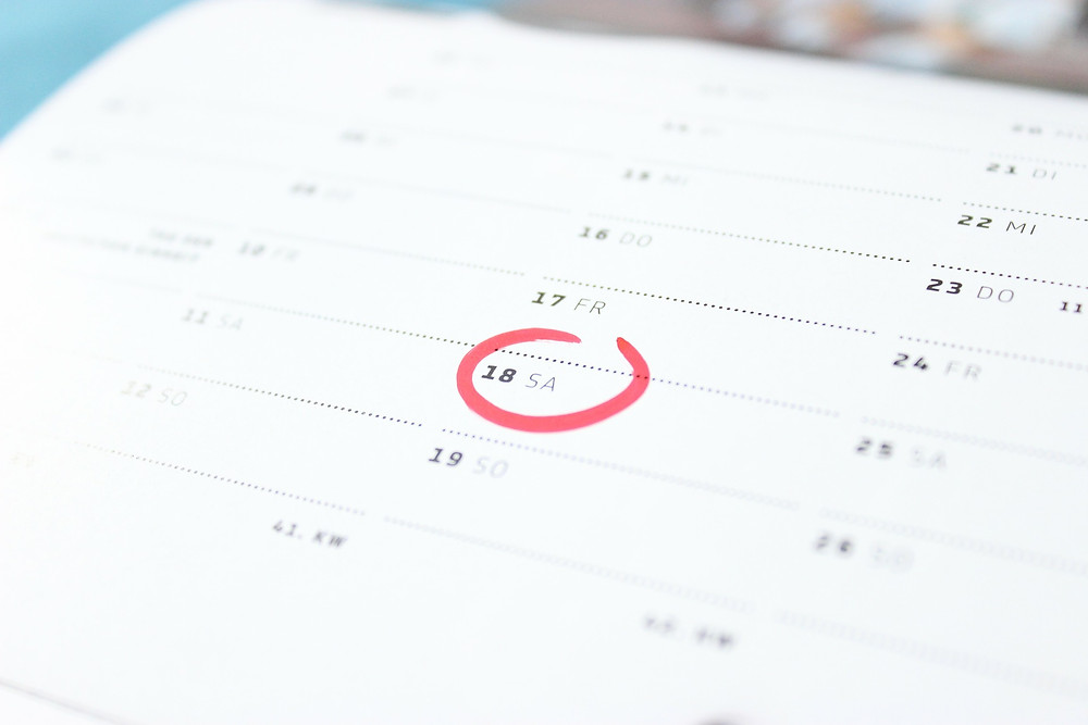 Calendar marking the AAT appeal lodgement deadline