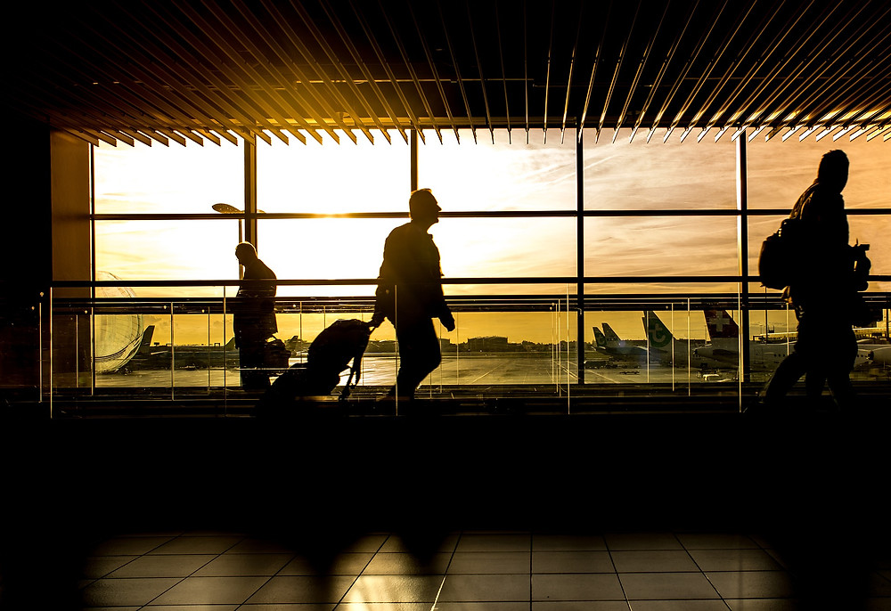 Australian Airport stands empty during covid-19, due to travel ban