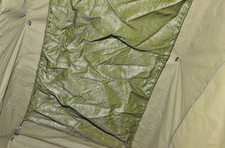 Storage in Tent