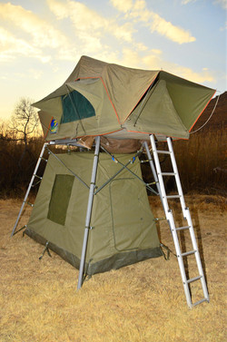 Sputnik and Ground Tent