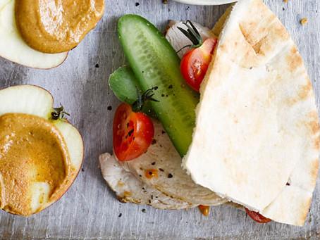 Idée de sandwich au pain pitta