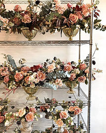 Our racks were full of gorgeous blooms t