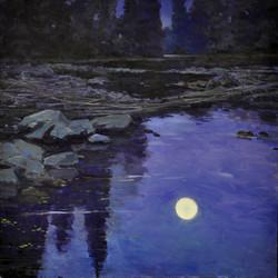 Mizzy Lake moonlight