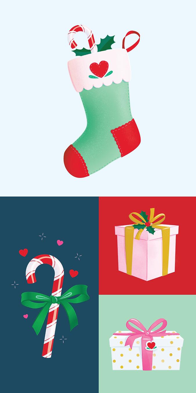 Lover-dover-Christmas-illustrations-port