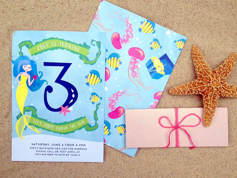 Kid's birthday invitation Chardon OH