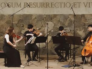 新しい、クラシック。福岡発「Purum Musica ensemble」弦楽団のコンサート 〜ソーシャルディスタンスを守った街中の演奏会〜