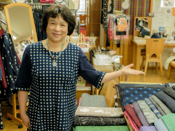 RealVoice #3 A new normal: rediscovering the charm of traditional textiles, Kurume Kasuri.