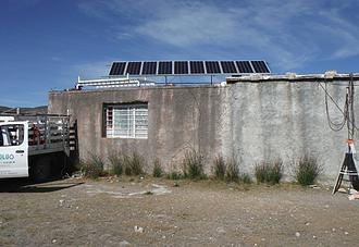 Electrificación Escuela Rural