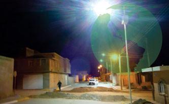 Lámparas solares en Aguascalientes