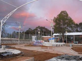 Lámparas Solares en Parques