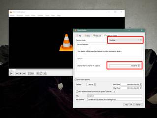 Come registrare il tuo schermo con VLC Player su Windows 10