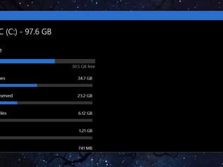 Come visualizzare la memoria occupata dalle cartelle in Windows 10