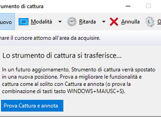 Come fare uno ScreenShot e catturare lo schermo facilmente su PC Windows