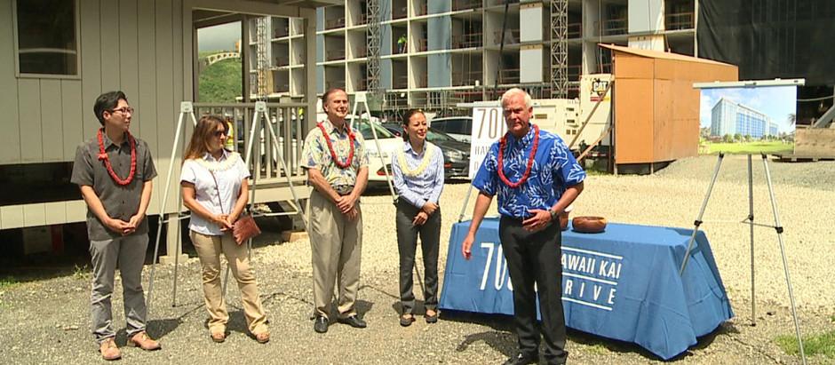 Heartfelt moments as Hawaii Kai development selects affordable rental tenants