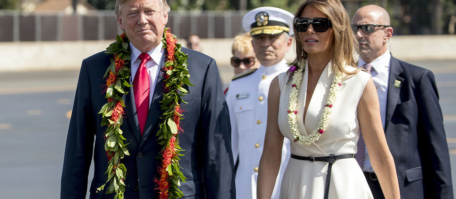 Trump visits Hawaii as islands prepare against potential North Korea nuclear threat