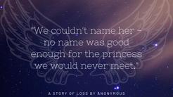 """No Name Was Good Enough For The Princess We'd Never Meet."""