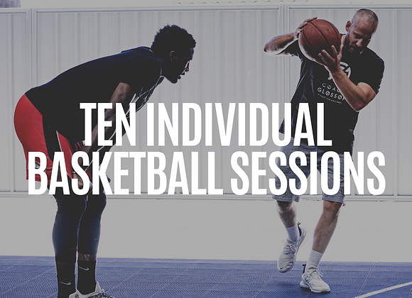 10x Pack Individual On-Court Sessions