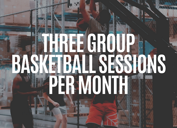 3x Sessions Per Month | Small Group On-Court Session
