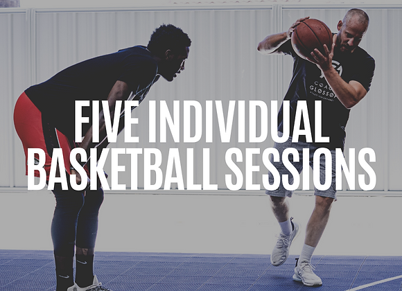 5x Pack Individual On-Court Sessions