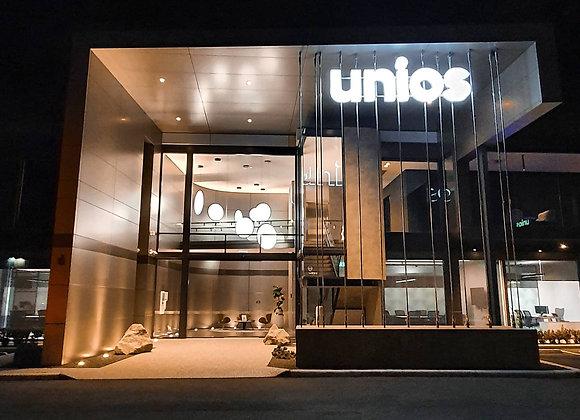 Evening pickup at Unios