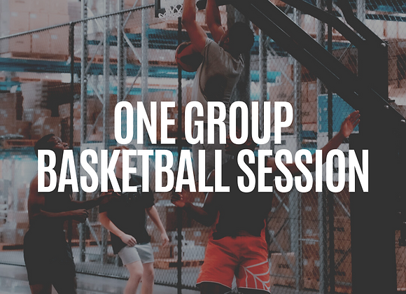 1x Single Session | Small Group On-Court Session
