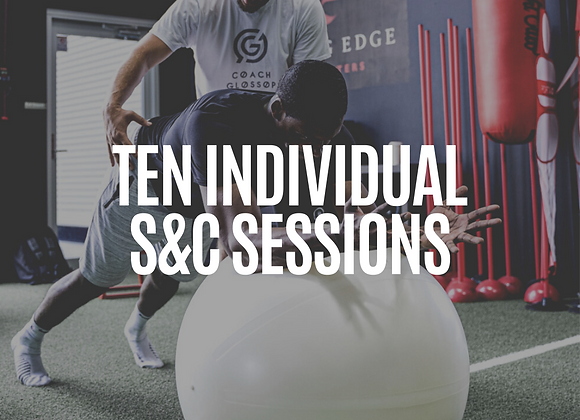 10x Pack Individual Strength & Conditioning Sessions