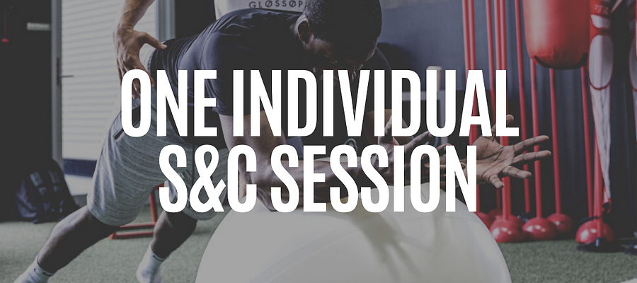 1x Individual Strength & Conditioning Session