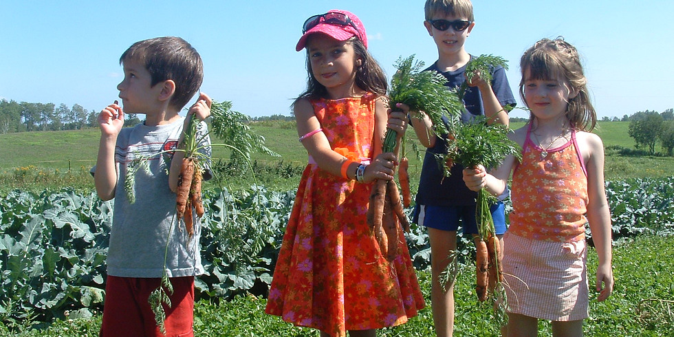 FARM KIDS SUMMER CAMP  Session 2: August 12th -16th 2019