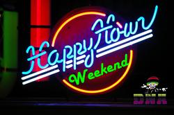 happy hour weekend