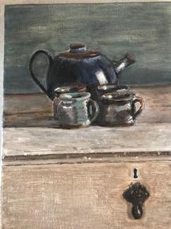 Teapot on Dresser