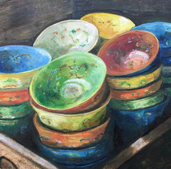 Bowls in Crate