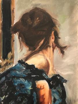 Woman's shoulder