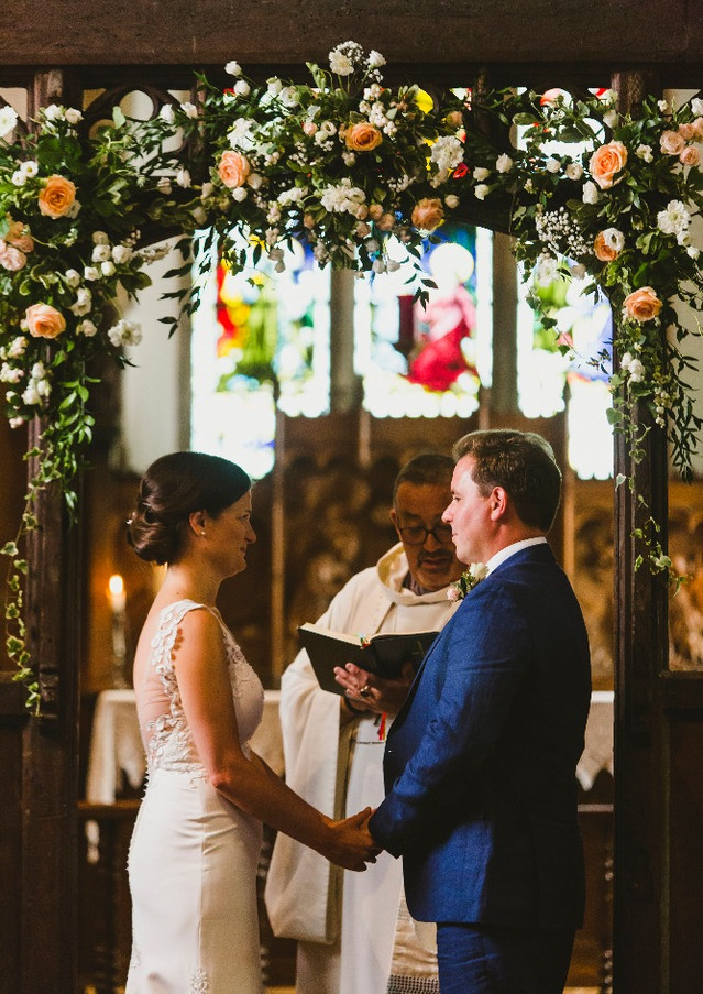 Harriet Martin Wedding-At the church-005