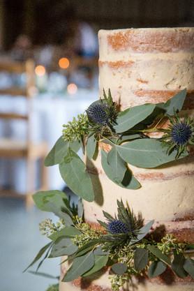 Naked Cake Flowers