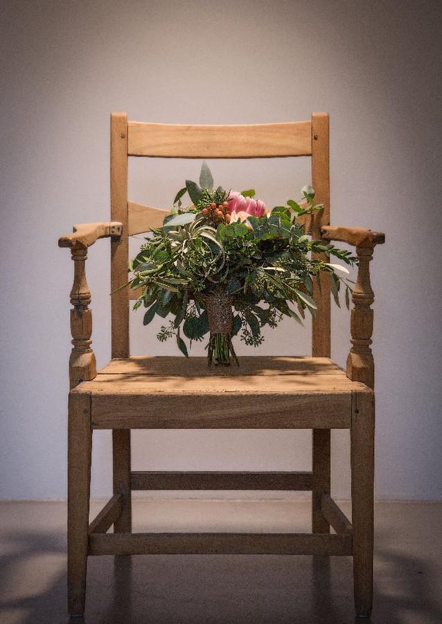Airplant Wedding Bouquet