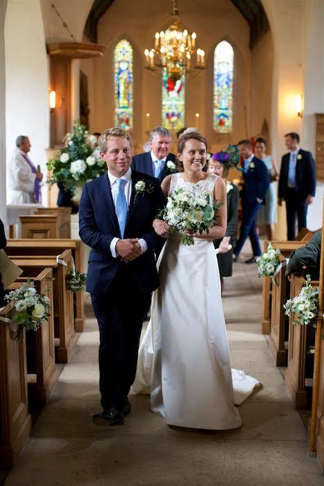 Westdean Church Wedding
