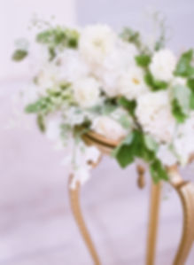 Green & White Floral Arrangement